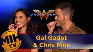 Wonder Woman Interview Gal Gadot & Chris Pine