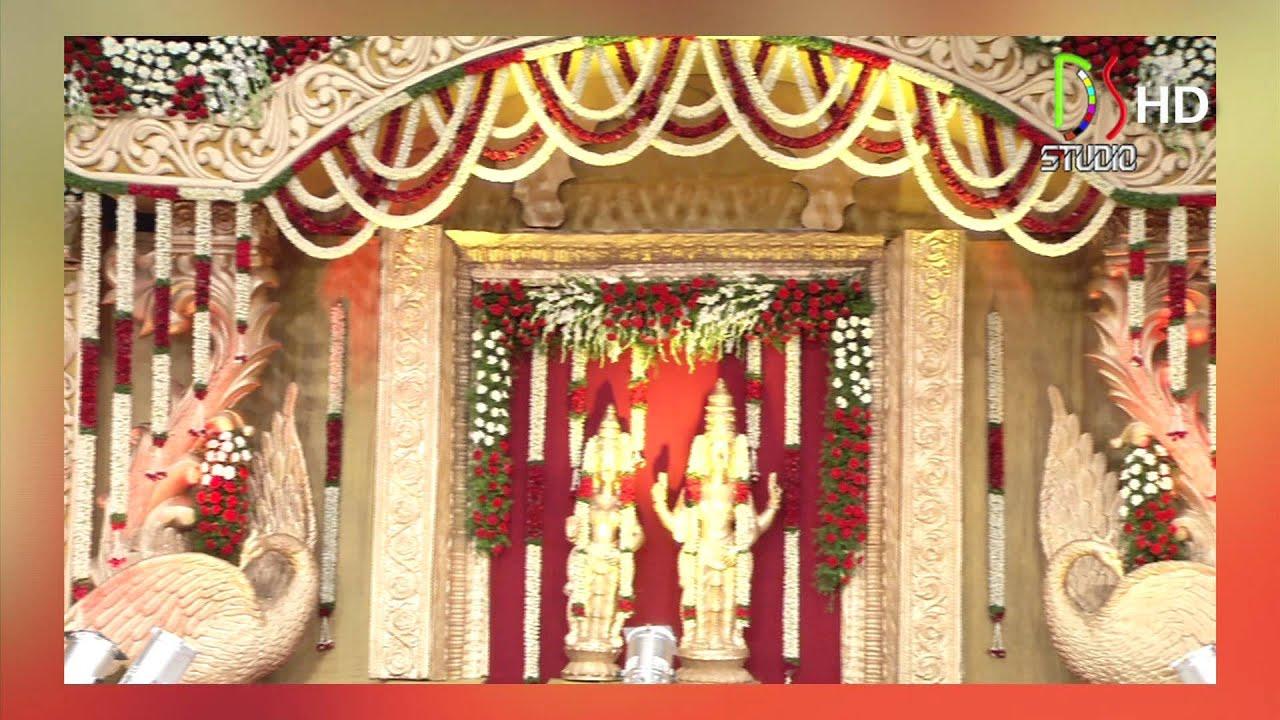 32  Amazing Pelli Mandapam Vedika Stage for Pelli Mandapam Vedika Stage Decorations  575cpg