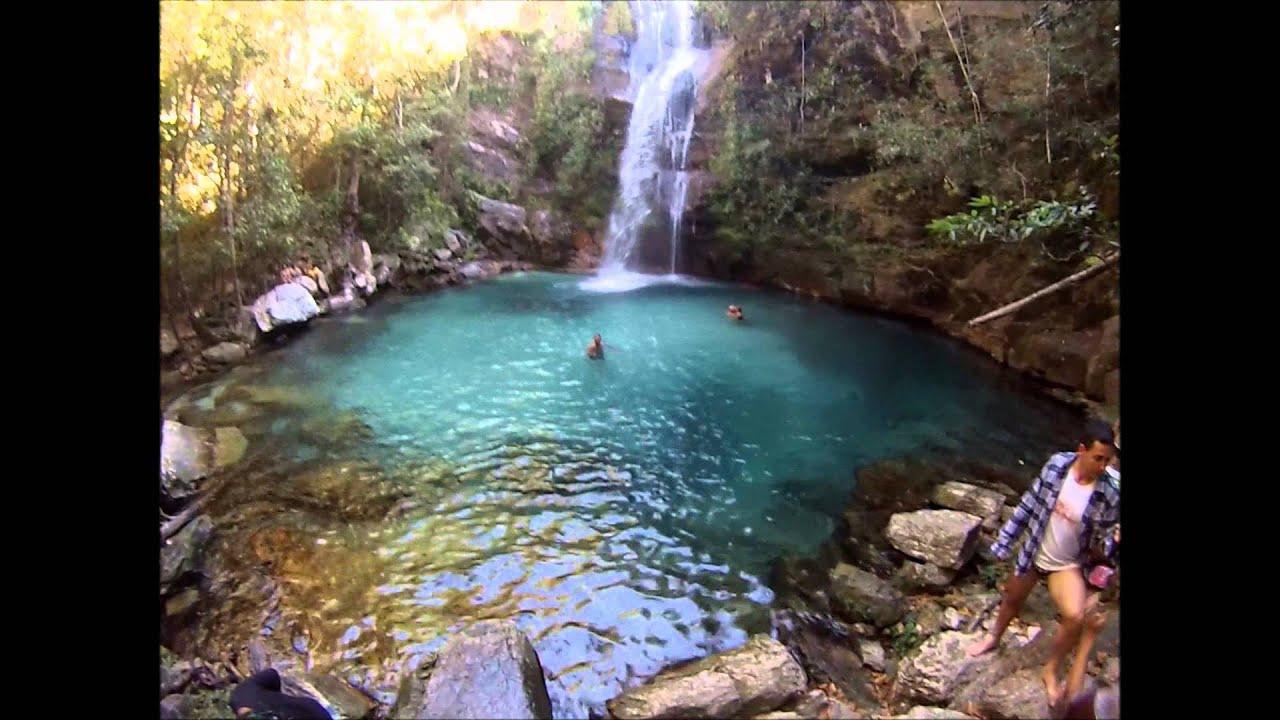 Cachoeira De Santa B 225 Rbara Cavalcante Go Chapada Dos