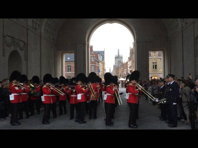 Band Grenadier Guards - Last Post Ieper, 04/09/2016