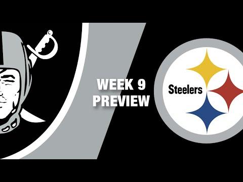 raiders-vs.-steelers-preview-(week-9)-|-nfl