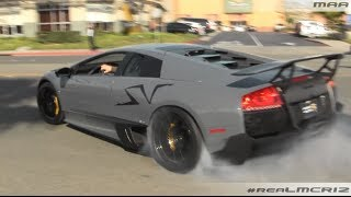 Lamborghini lp670-4 sv power slide!!