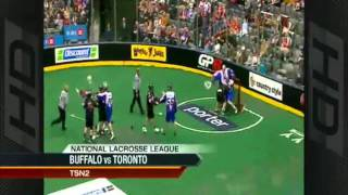 TOR-BUF Lacrosse Brawl Highlights