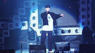 20180609 6PM iKON PRIVATE STAGE KOLORFUL 아이콘 팬미팅 CHAN SOLO (찬우 솔로 개인무대) - BORN HATER (본 헤이터) 개사 Ver.