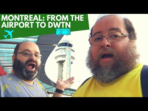 MONTRÉAL: FROM THE AIRPORT TO DWTN | The Fluffies Channel | Travel, Culture, Lifestyle, Food