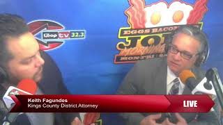EBJ TV   Kings County District Attorney Keith Fagundes Feb 2018