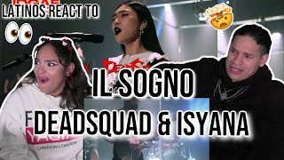 THIS IS CRAZY!!!🤯  Latinos react to IL SOGNO   Isyana sarasvati x Deadsquad   IDGAF 2021   REACTION