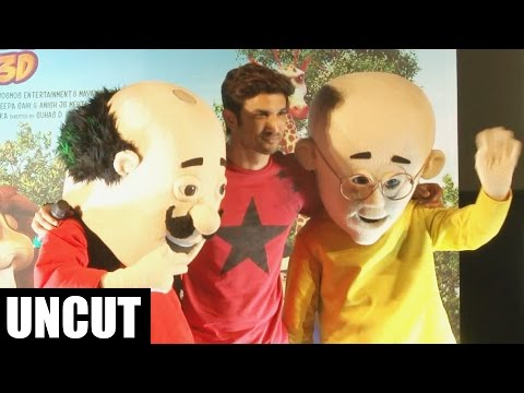 Motu Patlu: King of Kings in 3D Trailer Launch | Sushant Singh Rajput thumbnail