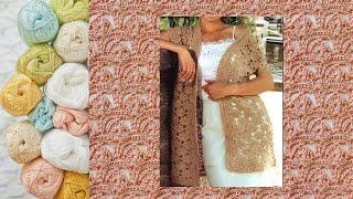 Crochet. VEST. ANALYSIS OF THE PATTERN || ЖИЛЕТ КРЮЧКОМ. РАЗБОР УЗОРА+СХЕМА