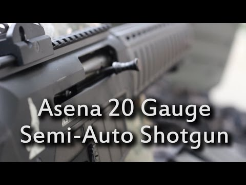 Asena Shotgun Reviewed!! Mag-Fed, Non-Restricted in Canada