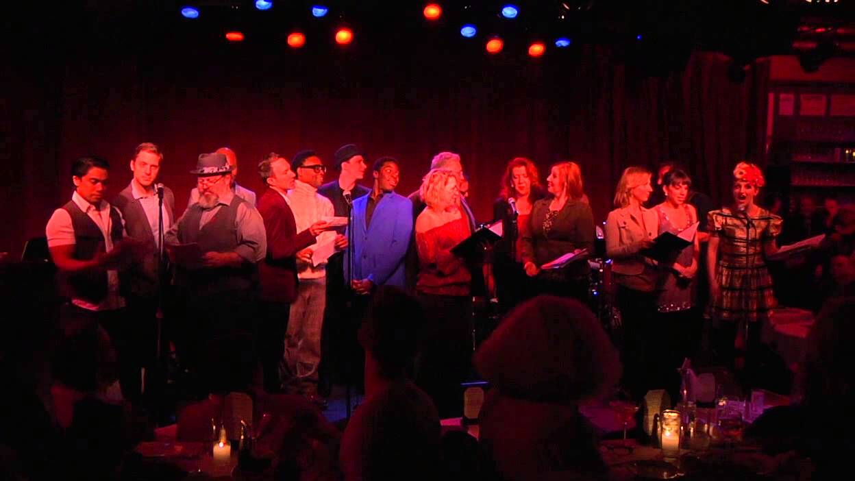 """Bar De Putas the kinky boots cast performs """"carol of the boots"""""""