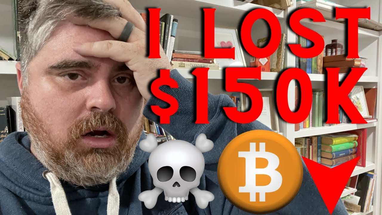 MOST EPIC Bitcoin Dump EVER How I JUST LOST 150k in BTC YouTube