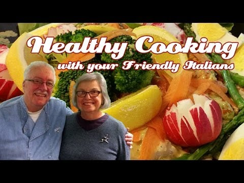 Ultimate Summer Salad .::. Healthy Cooking with your Friendly Italians #34
