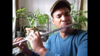 Symphony no. 5, 2nd movement, by Ludwig van Beethoven, flute solo by Dameon Locklear