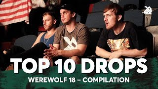 TOP 10 DROPS 😱 Werewolf Beatbox Championship 2018