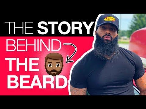 the reason behind the beard!!