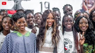 Naomi's Work With Young Girls In Africa