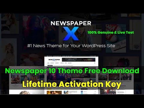 Newspaper 10 Theme Free Activation | Newspaper X Theme Free Download | Newspaper Theme Free Download