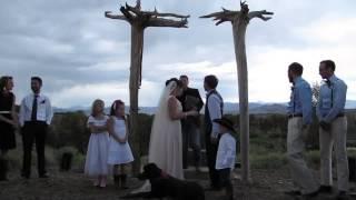 Wet & Wild Wyoming Wedding