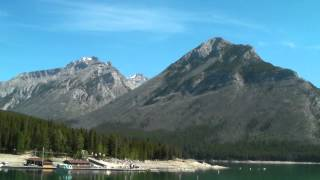 Lake Minnewanka Panorama, Banff Alberta