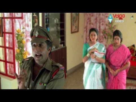 Sadist Police officer Prakash raj with his family  action comedy
