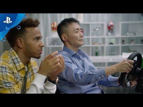 Gran Turismo Sport and Lewis Hamilton | PS4