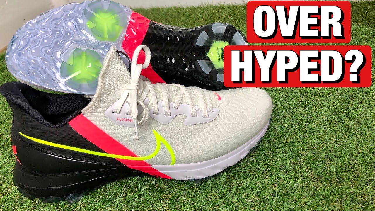 NIKE AIR ZOOM INFINITY TOUR GOLF SHOES REVIEW - ON FEET AND ON COURSE