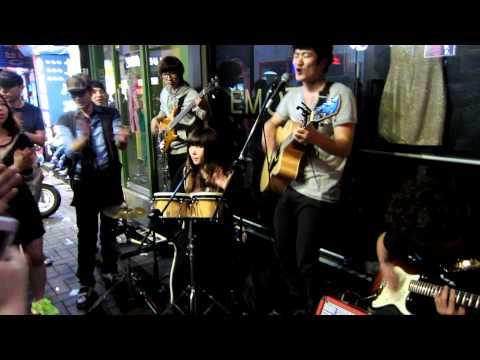 Korean Street Performers