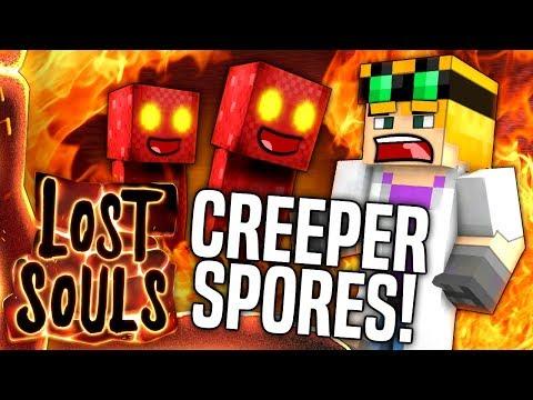 Minecraft - CREEPER SPORES - Lost Souls #8