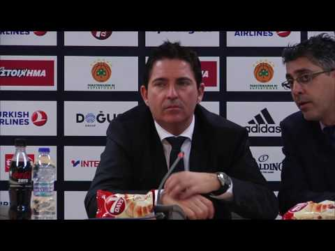 Euroleague Post - Game Press Conference: Panathinaikos Superfoods vs Anadolu Efes Istanbul