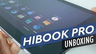chuwi hibook pro unboxing dual os ogs screen 2 in 1