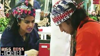 Rishabh Sinha Sexually Harrases Priya Malik | Bigg Boss 9 Double Trouble 24th November 2015 Episode