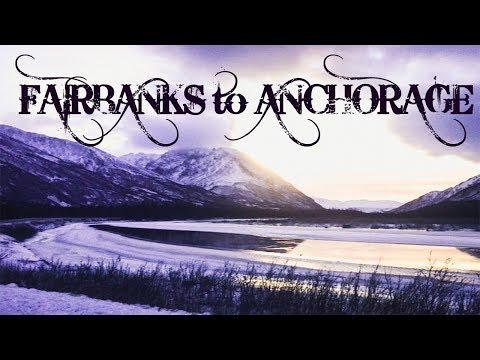 Fairbanks To Anchorage Alaska Road Trip