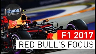F1 NEWS 2017 - RED BULL RACING: FUTURE FOCUSED [THE INSIDE LINE TV SHOW]
