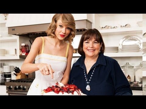 Taylor Swift Impressive Food Network Magazine Cooking Spread!