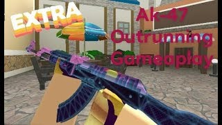 Roblox AK-47 Deathmatch Gameplay (OUTRUNNER) #2