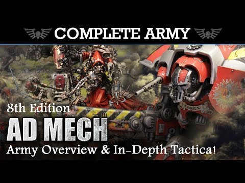 ADEPTUS MECHANICUS Army Overview & In-Depth Tactica 2000pts