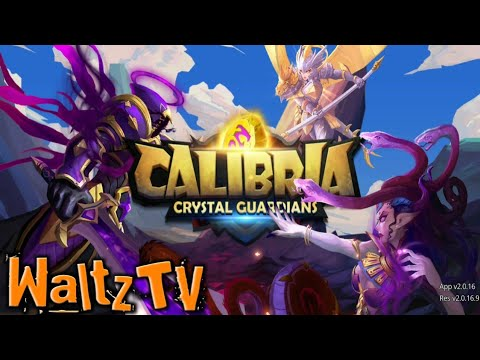 Calibria: Crystal Guardians - Android / IOS RPG