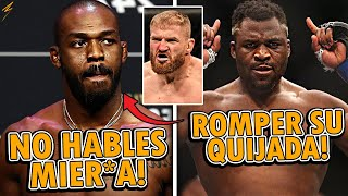 Jon Jones ACEPTA QUE Francis Ngannou DA MIEDO! | Conor McGregor ENVIA ADVERTENCIA a Dustin Poirier