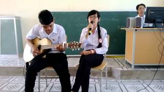 Tình Thơ [Guitar]  THPT Sông Đốc  Võ Phúc ft Tồ
