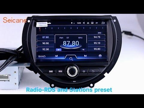 oem 2015 2016 bmw mini cooper radio gps navigation stereo. Black Bedroom Furniture Sets. Home Design Ideas
