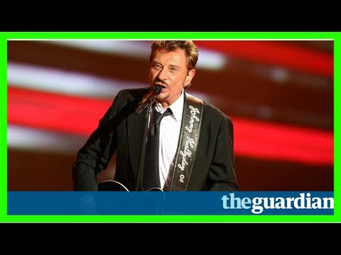 Johnny hallyday, the 'french elvis', dies at 74