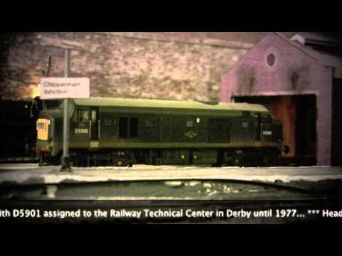 oorail.com | Heljan Class 23 Baby Deltic D5905 - OO Gauge Review