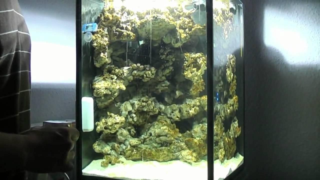 entstehung 100l nanoriff nano meerwasseraquarium. Black Bedroom Furniture Sets. Home Design Ideas