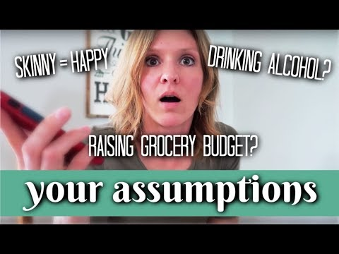 Weight Problem? Drinking Alcohol? | Answering your Assumptions