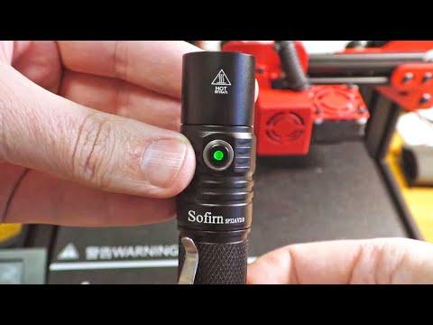 Мой ❤ LED 🔦 Sofirn SP32A V2.0 - карманный фонарик с индикатором, плавной регулировкой и защитой