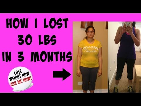 HOW I LOST 30 POUNDS  | Rose Marz