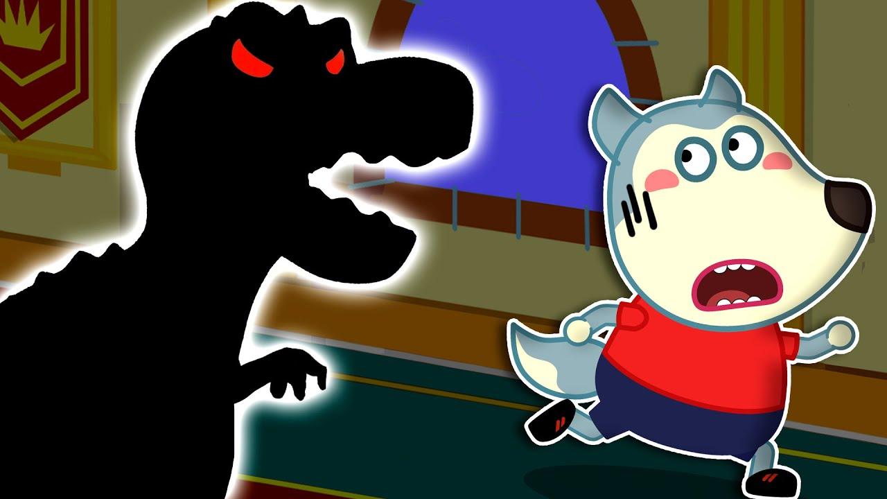 الوحوش في الظلام | كارتون اطفال | صور متحركة للاطفال | للأطفال | Wolfoo Arabic