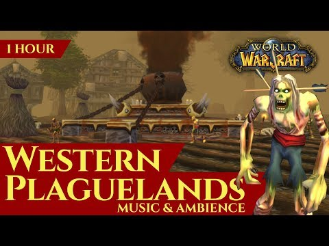 Western Plaguelands - Music & Ambience (1 hour, 4K, World of Warcraft Vanilla)