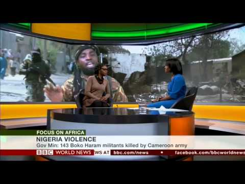 BBC World News 2015 01 12 Focus on Africa Programme on Boko Haram